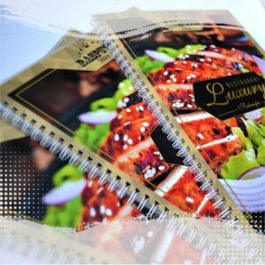 брошюровка меню